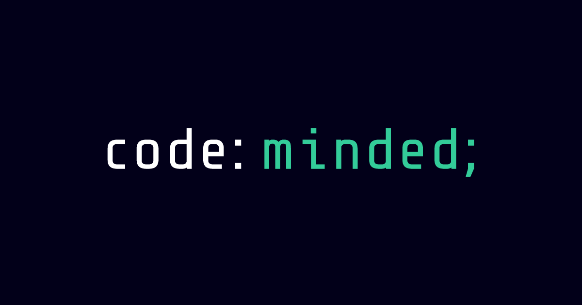 Codeminded Software House Logo