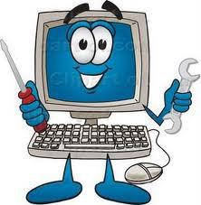 Web Design And Electronics Repair Logo