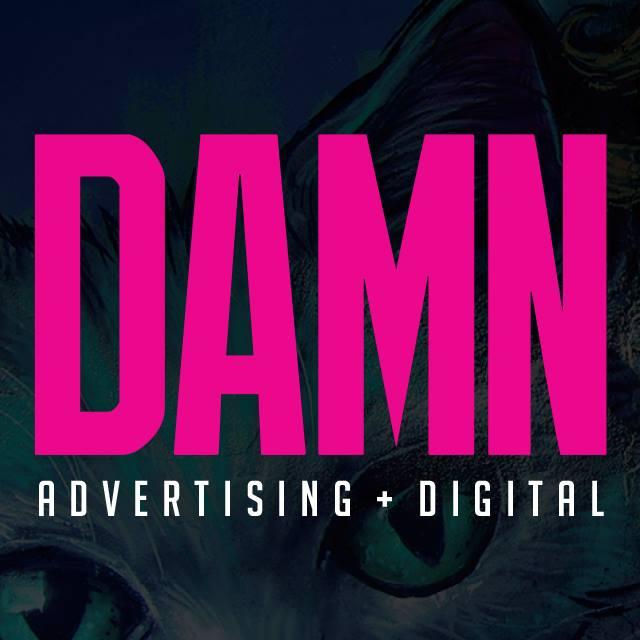 DAMN Advertising Logo