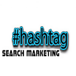 Hashtag Search Marketing Logo