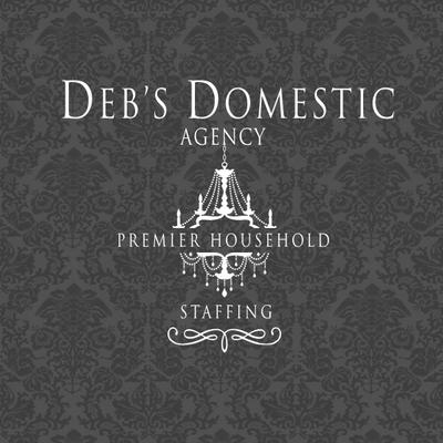Deb's Domestic Agency Logo