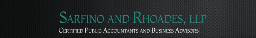 Sarfino and Rhoades, LLP Logo