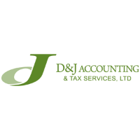 D&J Accounting and Tax Services Logo