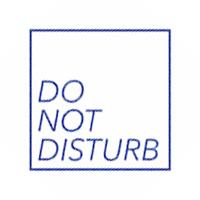 DO NOT DISTURB Logo