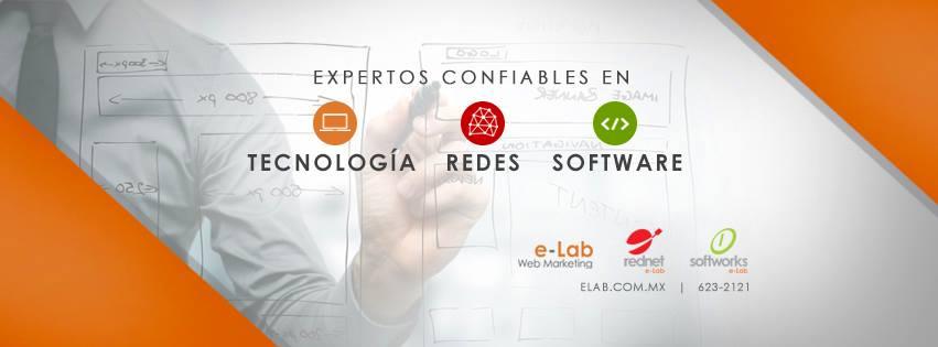 e-Lab Web Design Logo
