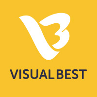 VisualBest Design Agency Logo