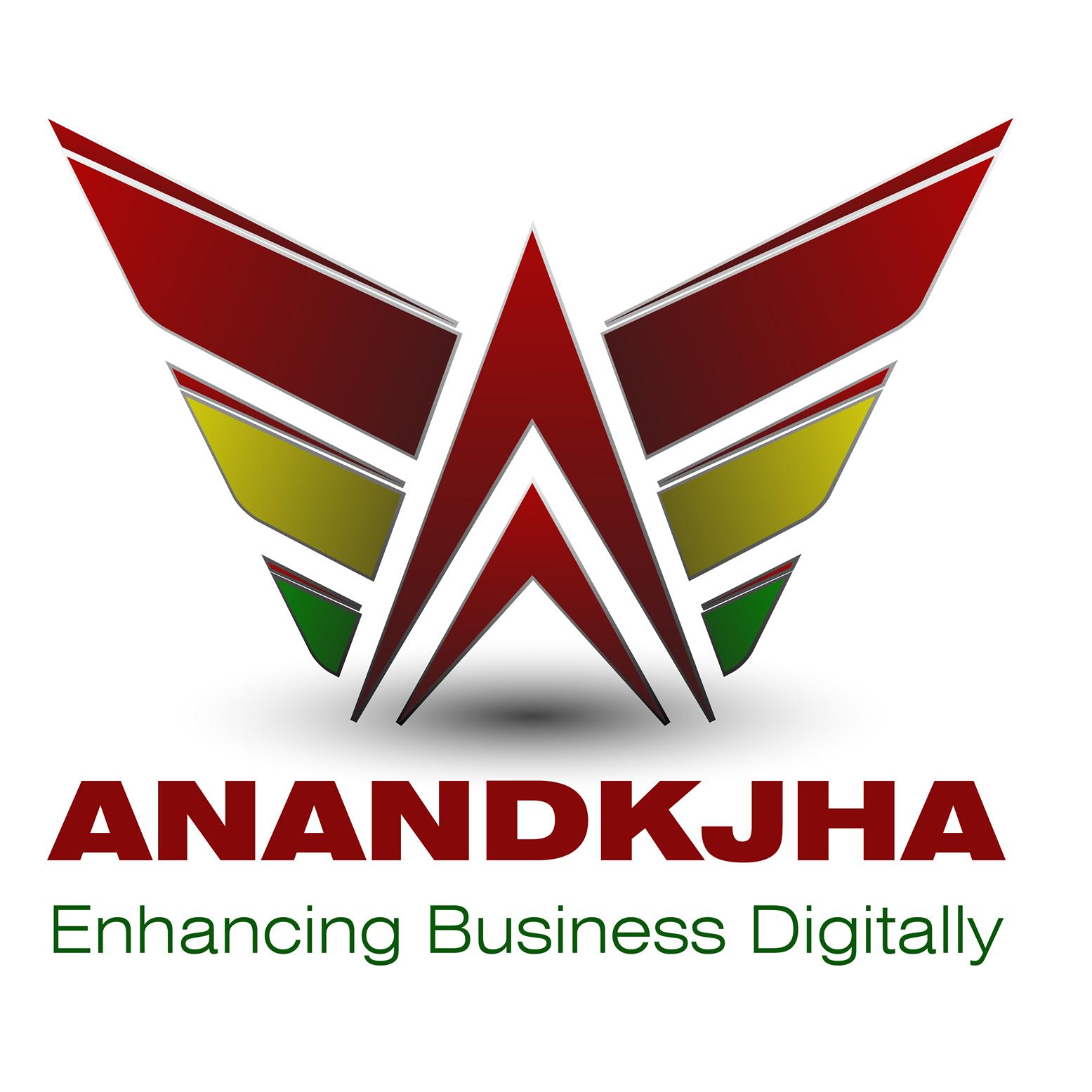 AnandKJha Digital Marketing Services Logo