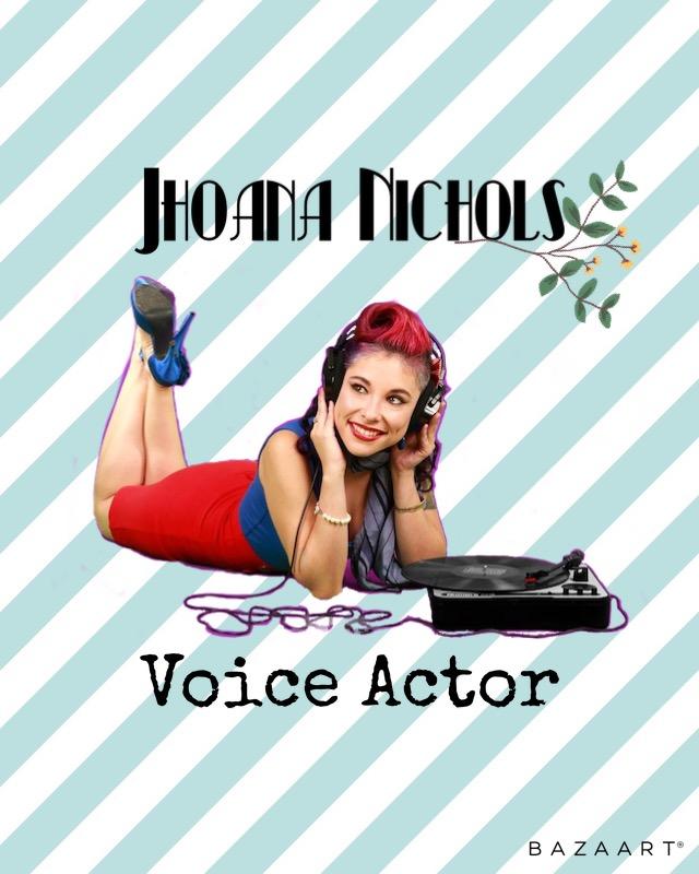 Jhoana Nichols Voice Actor Logo