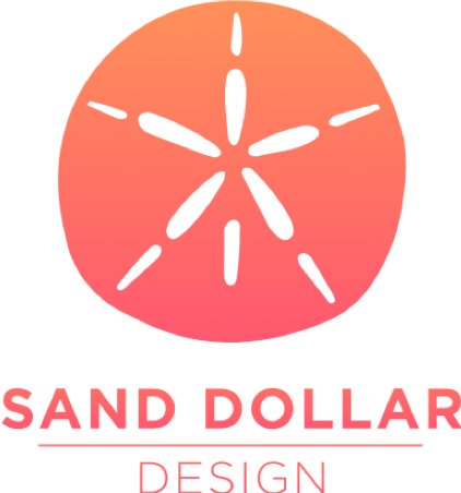 Sand Dollar Design Logo