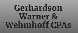 Gerhardson Warner & Wehmhoff CPAs Logo