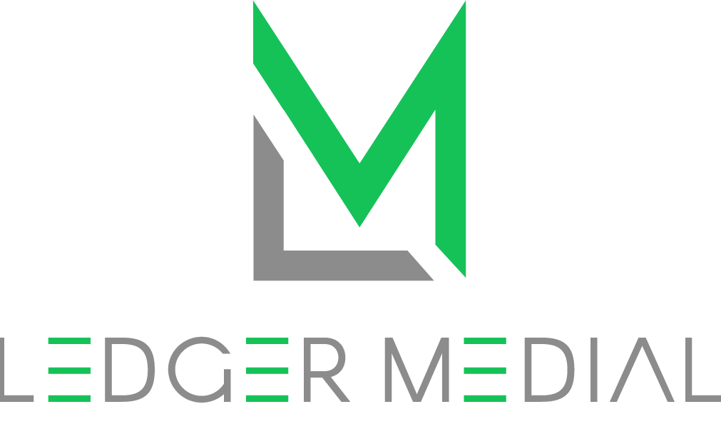 Ledger Medial Accounting Services Logo