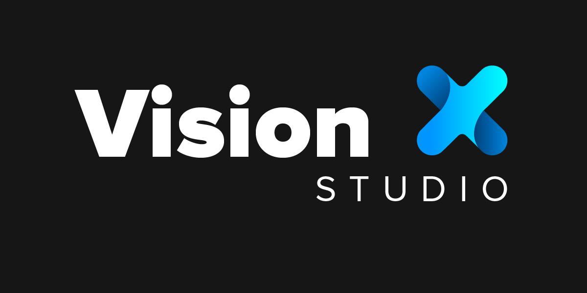 VisionX Studio Logo