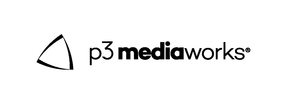 p3 mediaworks Logo