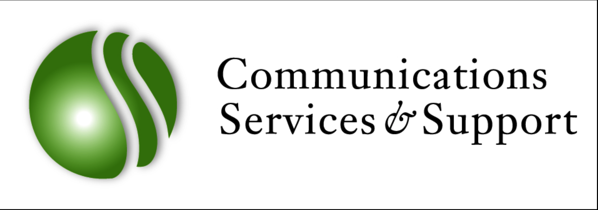 Communications Services & Support Logo