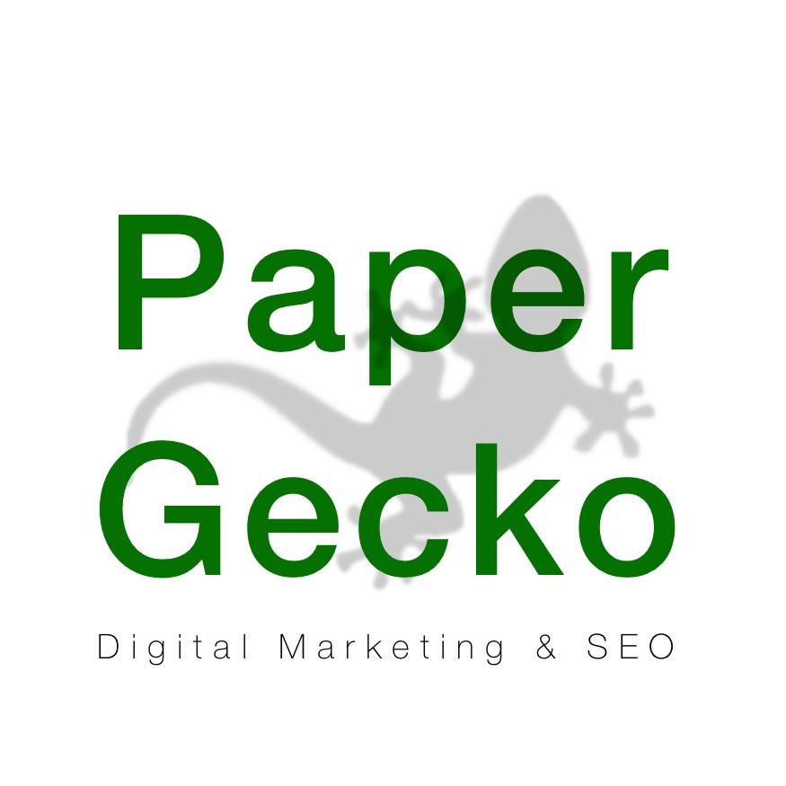 Paper Gecko - Digital Marketing & SEO Logo