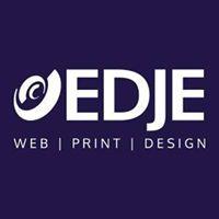 EDJE web   print   design logo