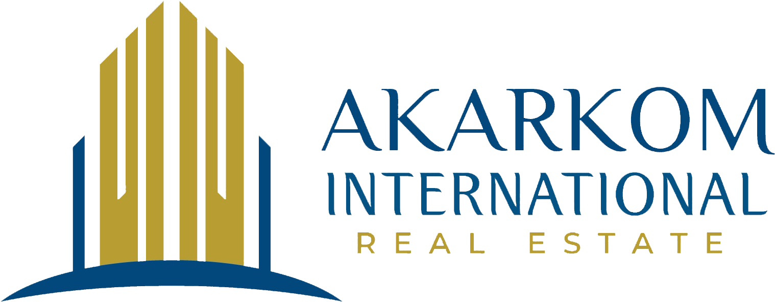 Akarkom International for Real Estate Logo