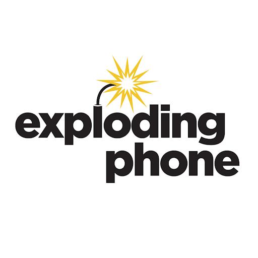 Exploding Phone Logo