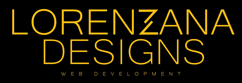 Lorenzana Web Design Logo