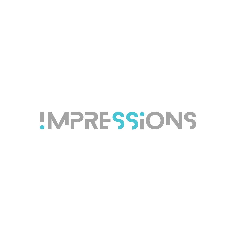 IMPRESSIONS - Digital Marketing Logo