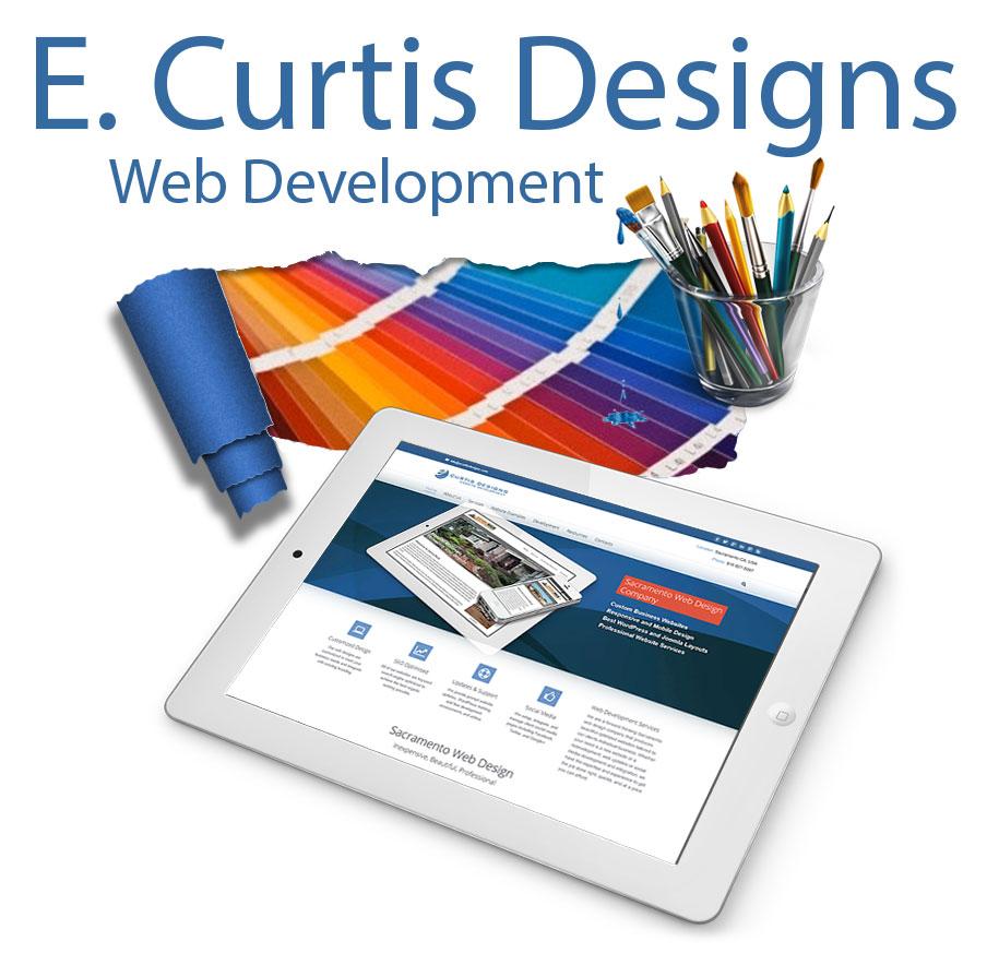 E. Curtis Designs Logo