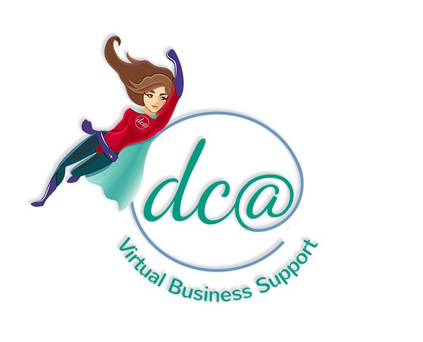 DCA Virtual Business Support Logo