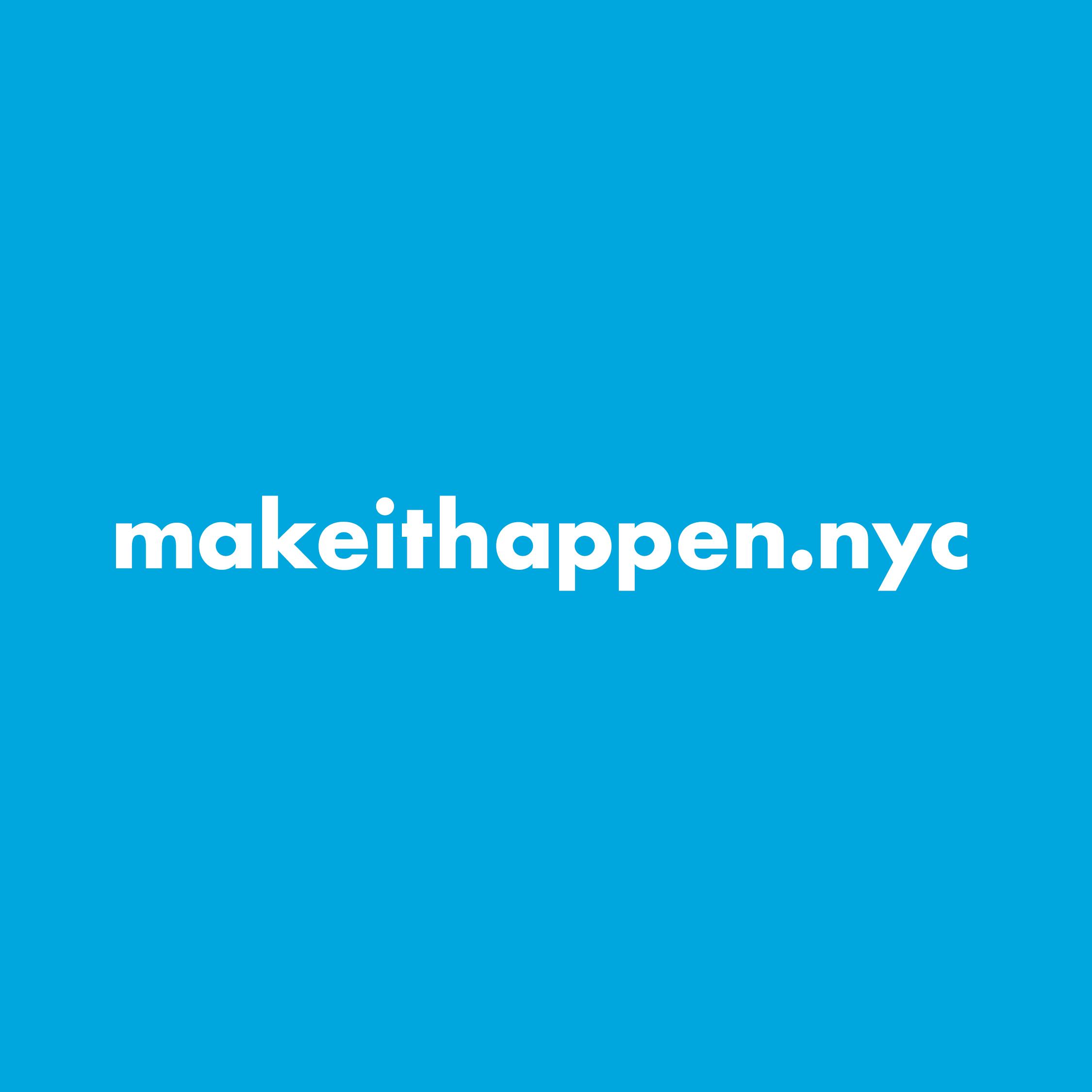 makeithappen.nyc Logo