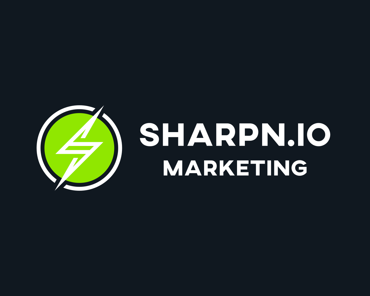 Sharpn Marketing Inc. Logo