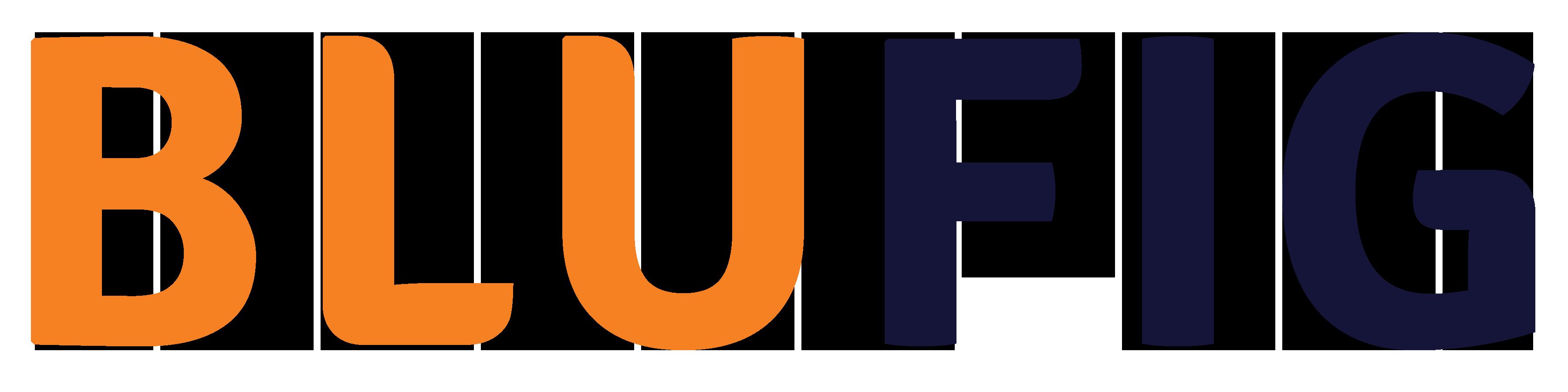 Blufig Logo