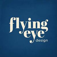 flying eye design  Logo
