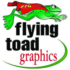 Flying Toad Graphics Logo