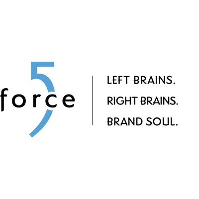 Force 5 - Brand Development, Marketing Logo