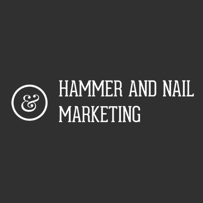 Hammer & Nail Marketing Logo