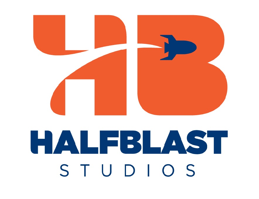 HalfBlast Studios Logo