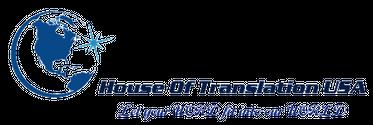 House of Translation USA  Logo