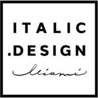 italic design Logo