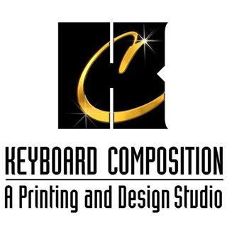 Keyboard Composition Printing & Design Logo