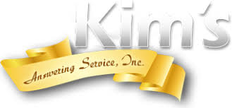 Kim's Answering Service Logo