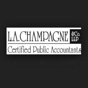L. A. Champagne & Co logo