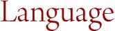 Language Logo