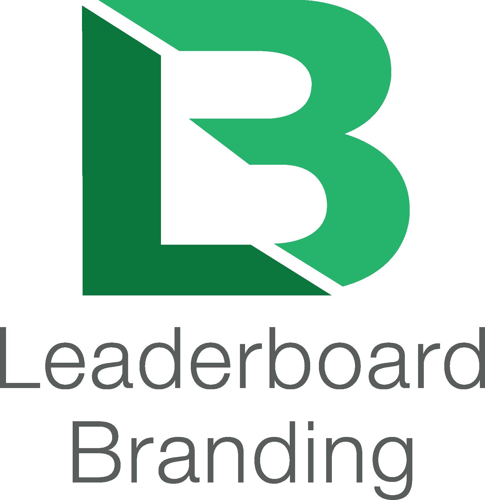 Leaderboard Branding Logo