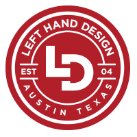 Left Hand Design Logo
