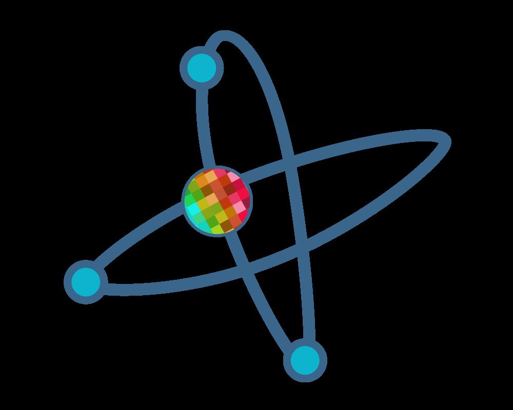 Atoms & Pixels Logo