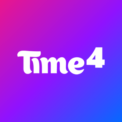 Time4 Digital Logo