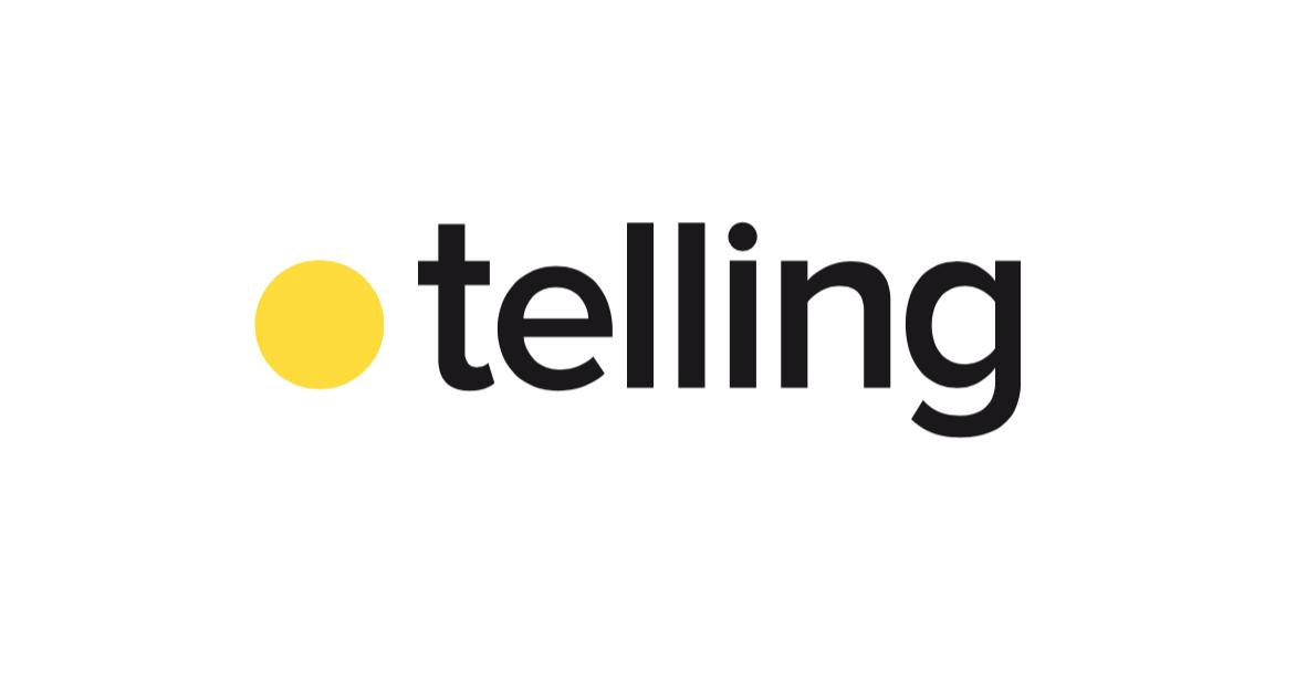 Telling Advertising Logo