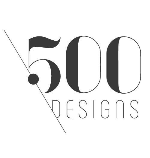 500 Designs logo