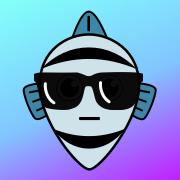 Mean Guppy Logo