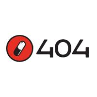404 // Mobile & web apps Logo