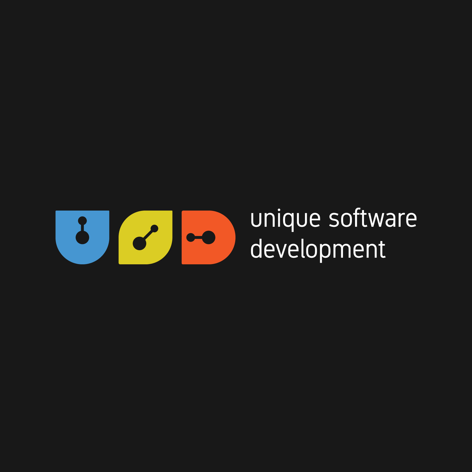 Unique Software Development Logo
