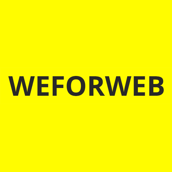 WE FOR WEB Logo